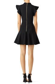 Black Flutter Dress by Rachel Zoe