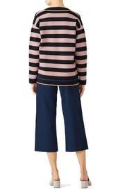 Striped Knit Pullover by Diane von Furstenberg