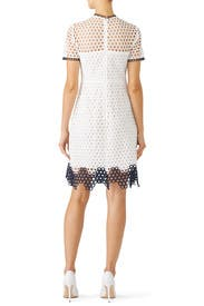 Geo Lace Carter Dress by Shoshanna