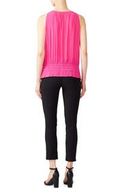 Pink Sleeveless Lauren Top by Ramy Brook