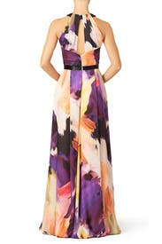 Dahlia Watercolor Gown by pamella by pamella roland