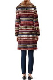 Kendell Striped Jacket by Trina Turk