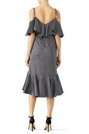 Striped Francesca Dress by AMUR