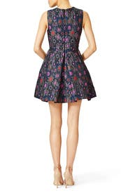 Charcoal Jacquard Dress by Cynthia Rowley
