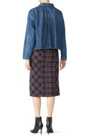 See You Glow Plaid Skirt by Free People