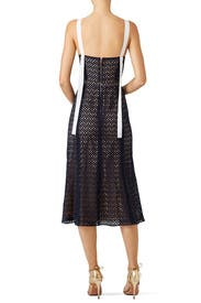 Lace Cotton Eyelet Dress by Prabal Gurung