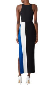 Striped Anais Skirt by Solace London