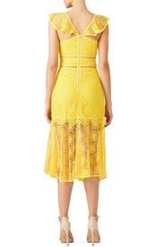 Yellow Leilani Dress by Saylor
