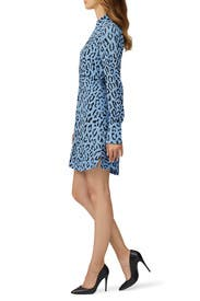 Leopard Marcella Dress by A.L.C.