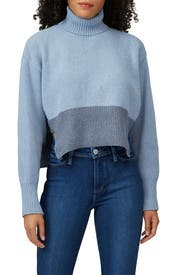 Blue Ombre Turtleneck by Cedric Charlier