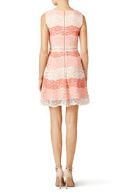 Peach Beckley Dress by ERIN erin fetherston