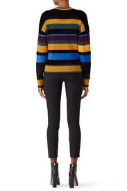 Chenille Stripe Pullover by Jason Wu