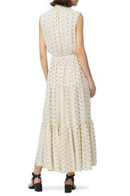 Printed Neck Tie Maxi by Polo Ralph Lauren