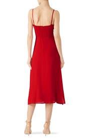 Cherry Red Cassandra Dress by Reformation