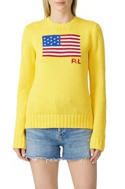 Yellow Flag Sweater by Polo Ralph Lauren