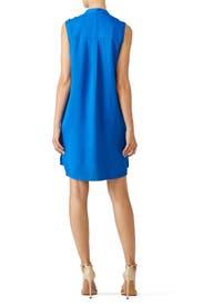 Blue Collar Shift Dress by Derek Lam 10 Crosby