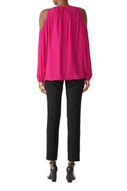 Magenta Heather Maternity Top by FOR 2 by Ramy Brook