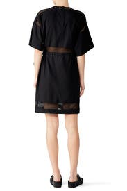 Netted Drawstring Dress by Proenza Schouler White Label