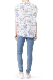 Sentosa Print Shirt by Elk