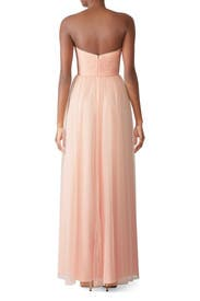Blush Strapless Gown by AMSALE