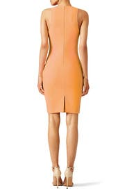 Orange Kenna Dress by Elizabeth and James