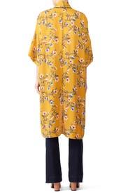 Floral Long Kimono by B Collection by Bobeau