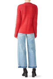 Bicolor Crew Neck Sweater by Derek Lam 10 Crosby