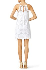 White Out Sunflower Dress by Nicholas