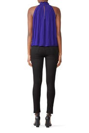 Purple Selene Top by Ramy Brook