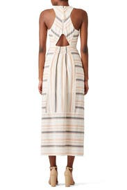 Striped Brighten Maxi by The Jetset Diaries