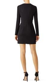 Black Sana Dress by STYLESTALKER