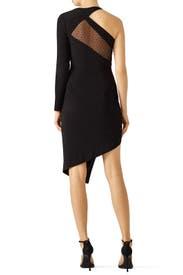 Black Micah Dress by STYLESTALKER
