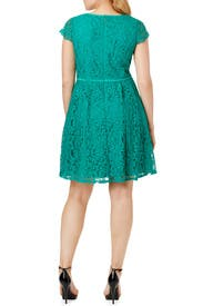 Sea of Green Dress by Adrianna Papell