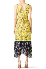 Garden Print Everly Maxi by Tanya Taylor