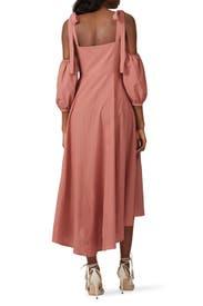 Esther Midi Dress by CAPULET