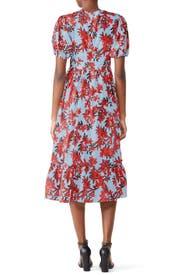 Red Sea Midi Dress by La Maison Talulah