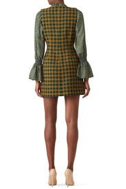 Green Ethno Combo Dress by Sea New York