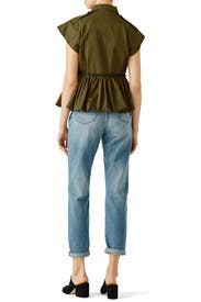 Olive Drab Field Jacket by Harvey Faircloth