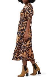 Printed Indah Dress by Ulla Johnson