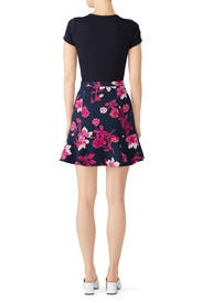 Darlington Floral Flutter Skirt by Draper James