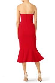 Red Luna Dress by Cinq à Sept