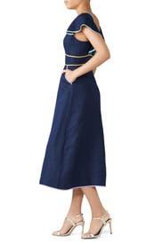 Contrast Trim Dress by kate spade new york