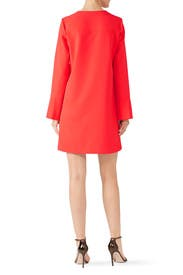 Long Sleeve Keyhole Dress by Derek Lam Collective
