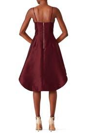 Fig Asymmetrical Dress by Keepsake