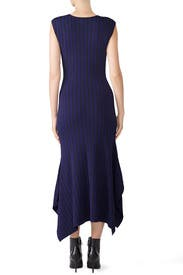 Two Tone Handkerchief Dress by Jason Wu Grey