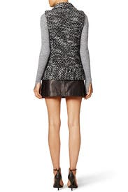 Trace Tweed Vest by Rebecca Taylor