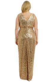 Golden Hour Gown by Badgley Mischka