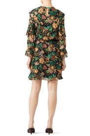 Ruffle Jungle Print Dress by Scotch & Soda