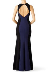 Midnight Dive Gown by LM Collection