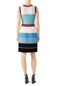 Striped Knit Dress by Alexia Admor